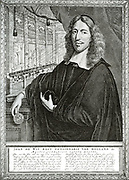 Johan De Witt, a statesman of rare gifts.  For nearly twenty years he was the leader of the Foreign Affairs of the Dutch Republic, trying to defend its commercial interests against the attacks of the British rival, for which purpose he strengthened the Du