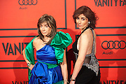 Paloma Segrelles and  Paloma Segrelles Jr during the photocall of Vanity Fair 5th Anniversary party In Madrid