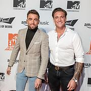 NLD/Amsterdam/20191028 - MTV Pre Party in Amsterdam, Rene Watzema and Jaimy Dorenbosch