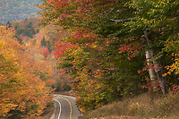 Fall drive along the Kancamagus Highway. ©2014 Karen Bobotas Photographer