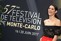 June 17, 2017 - Monte-Carlo, Monaco - Miranda RAE MAYO - Photocall 'Chicago Fire' - 57ème Festival de la Television de Monte-Carlo. Monte-Carlo, Monaco, 17/06/2017. # 57EME FESTIVAL DE LA TELEVISION DE MONTE-CARLO - PHOTOCALL 'CHICAGO FIRE' (Credit Image: © Visual via ZUMA Press)