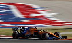 November 2, 2019, Austin, United States of America: Motorsports: FIA Formula One World Championship 2019, Grand Prix of United States, .#55 Carlos Sainz jr. (ESP, McLaren F1 Team) (Credit Image: © Hoch Zwei via ZUMA Wire)