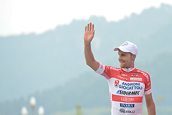 September 13, 2016 - Pingchang, China - Mattia De Marchi from Androni Giocattoli team wins the fourth stage, 157.57 km from Bazhong to Pingchang, during the 2016 Tour of China 1...On Tuesday, 13 September 2016, in Pingchang, China. (Credit Image: © Artur Widak/NurPhoto via ZUMA Press)