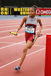 Samsung Diamond League adidas Grand Prix track & field; 4x400 meter relay youth girls, Metro Eagles TC