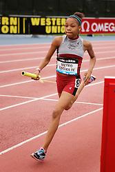 Samsung Diamond League adidas Grand Prix track & field; 4x400 meter relay youth girls, Metro Eagles TC