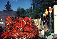 Lobster at a lobster pound restaurant in Maine, USA
