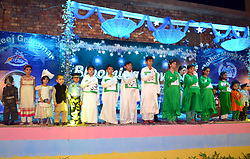 April 29, 2017 - Hyderabad, Sindh, Pakistan - Students of a private school take part in the different competition including dance and drama during the annual function of their school in Qasimabad. (Credit Image: © Janali Laghari/Pacific Press via ZUMA Wire)