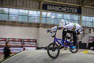 #77 (SAKAKIBARA Kai) AUS during practice at the 2019 UCI BMX Supercross World Cup in Manchester, Great Britain
