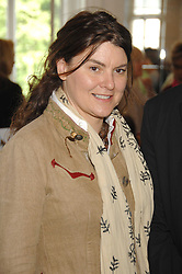 GERALDINE HARMSWORTH at a lunch in aid of African Solutions To African Problems held at Il Bottaccio, 9 Grosvenor Place, London on 20th May 2008.<br /><br />NON EXCLUSIVE - WORLD RIGHTS
