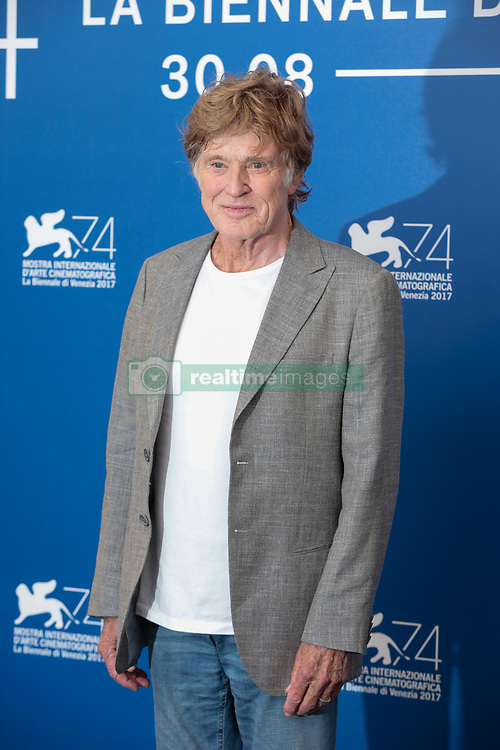 Actors Jane Fonda and Robert Redford attend a photocall during the 74th Venice Film Festival on September 1, 2017 at Venice Lido. Jane Fonda and Robert Redford will be honored with Golden Lions for Lifetime Achievement at the 74th Venice International Film Festival on Sept. 1 at the Palazzo del Cinema. 01 Sep 2017 Pictured: Robert Redford. Photo credit: Fernanda Bareggi / MEGA TheMegaAgency.com +1 888 505 6342