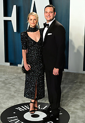 Kelly Sawyer Patricof and Jamie Patricof attending the Vanity Fair Oscar Party held at the Wallis Annenberg Center for the Performing Arts in Beverly Hills, Los Angeles, California, USA.