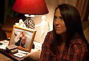 Ellen Hensley, mother of the slain Jerrica Christensen, reflects on her family's painful ordeal and legal battles in her Leeds home, Thursday, Dec. 6, 2012.