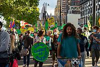 Amazon Deforestation march London photo by Mark Anton Smith