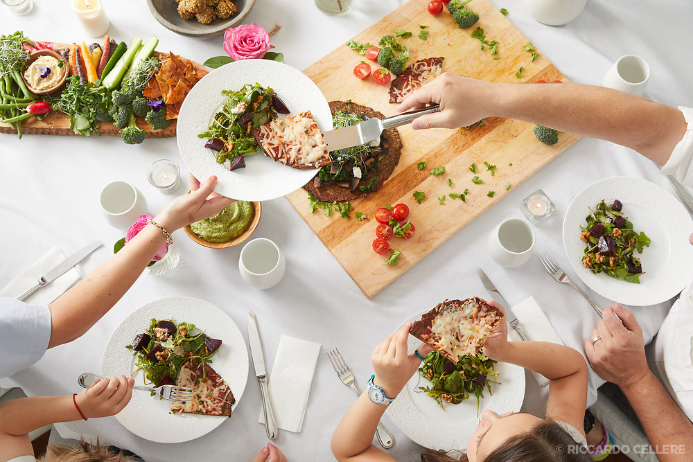 Promo photo for A Table cookbook.