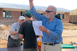 Richard Ferris Explaining Numbering System For Crocodiles To Students