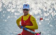 Eton Dorney, Windsor, Great Britain,<br /> <br /> 2012 London Olympic Regatta, Dorney Lake. Eton Rowing Centre, Berkshire[ Rowing].<br /> <br /> Description; Women's pair Repechage General views   Dorney Lake. 09:26:47  Monday  30/07/2012 [Mandatory Credit: Peter Spurrier/Intersport Images]