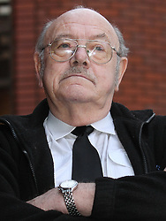 © Licensed to London News Pictures . File picture dated 16/01/2013 . Stockport , UK . BILL WORTHINGTON (75), leaving Stockport Magistrates' Court at a revious hearing. BILL WORTHINGTON is today (06/02/2013)  due to be sentenced after admitting trapping and shooting a grey squirrel, without killing it . Photo credit : Joel Goodman/LNP