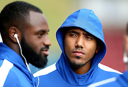 Cristian Montano and Hiram Boateng of Bristol Rovers arrive at Sixfields for the Sky Bet League One fixture with Northampton Town - Mandatory by-line: Robbie Stephenson/JMP - 01/10/2016 - FOOTBALL - Sixfields Stadium - Northampton, England - Northampton Town v Bristol Rovers - Sky Bet League One