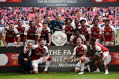 London: Arsenal v Chelsea - Community Shield - 6 Aug 2017