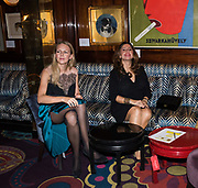 ALINA ARONI; DUYGU GOZELER PORCHET; , Pedro Girao of Christies and Duncan Macintyre of Lombard Odier host the last dinner at the Old Annabels. 44 Berkeley Sq. London. 15 November 2018
