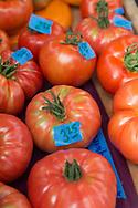 Alaska grown tomatoes for sale at the Ocenside Farms in Homer, Alaska, USA.<br /> <br /> Photographer: Christina Sjögren<br /> <br /> Copyright 2019, All Rights Reserved