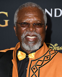 July 9, 2019 - Hollywood, California, U.S. - 09 July 2019 - Hollywood, California - John Kani. Disney's ''The Lion King'' Los Angeles Premiere held at Dolby Theatre. (Credit Image: © Birdie Thompson/AdMedia via ZUMA Wire)