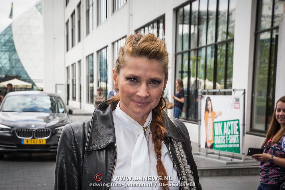 NLD/Eindhoven/20140623 - Koningin Maxima bij bijeenkomst Kracht on Tour<br /> <br /> Queen Maxima attends the Power on Tour meeting in Eindhoven the Netherlands         Op de foto: Marlies Dekkers