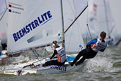 08_002262 © Sander van der Borch. Medemblik - The Netherlands,  May 23th 2008 . Third day of the Delta Lloyd Regatta 2008.