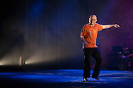 """Chicago Tap Theatre's production of Totally Tapular at the Athenaeum Theater in Chicago...""""Like a Prayer"""".Dancers: Mark Yonally."""