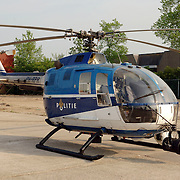 NLD/Huizen/20060512 - Opening vernieuwd KNRM reddingsstation Huizen Energieweg 1, politie helicopter RP-RPR