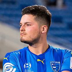 BRISBANE, AUSTRALIA - SEPTEMBER 20: Martin Vazquez of Gold Coast City looks on after the Westfield FFA Cup Quarter Final match between Gold Coast City and South Melbourne on September 20, 2017 in Brisbane, Australia. (Photo by Gold Coast City FC / Patrick Kearney)