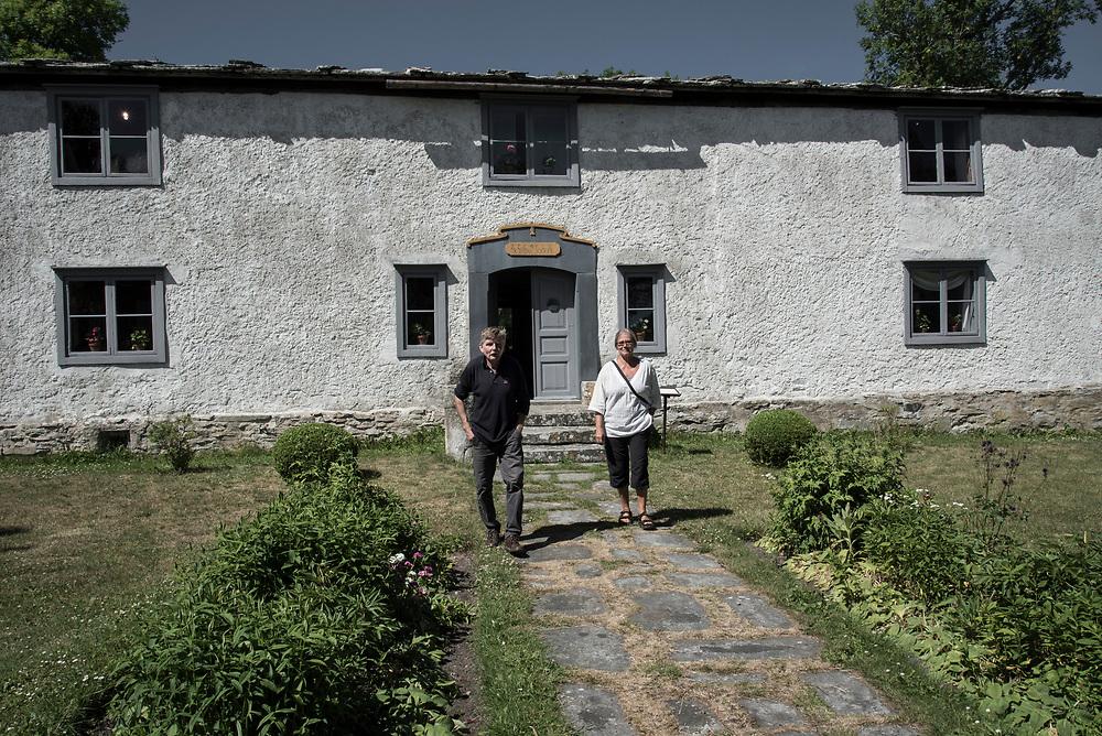 Hembygdsmuseum i Vamlingbo på södra Gotland På Gotland