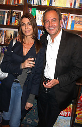 ROD WESTON and ANITA STAINES at a party to celebrate the publicarion of The Meaning of Tingo by Adam Jacot de Boinod held at the Daunt Bookshop, 83 Marylebone High Street, London on 18th October 2005.<br /><br />NON EXCLUSIVE - WORLD RIGHTS