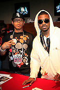 l to r: Yung Berg and Ray J at The 2008 Hot 97 Summer Jam held at Giants Stadium in Rutherford, NJ on June 1, 2008...Summer Jam is the annual hip-hop fest held at Giants Stadium and sponsored by New York based radio station Hot 97FM.