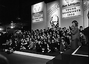 08/01/1988.01/08/1988.8th January 1988 .The Aer Lingus Young Scientist of the Year Award at the RDS, Dublin ..Competitors at the Young Scientist Exhibition.