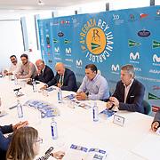 © Maria Muina / Presentación Regata Rey Juan Carlos I El Corte Ingles Máster en la sede de El Corte Inglés en Vigo.