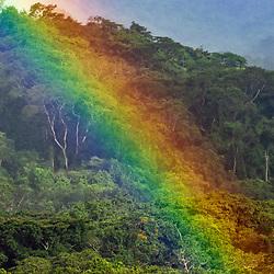 Arco-íris (paisagem) fotografado no Parque Nacional da Chapada dos Veadeiros - Goiás. Bioma Cerrado. Registro feito em 2015.<br /> ⠀<br /> ⠀<br /> <br /> <br /> <br /> <br /> <br /> ENGLISH: Rainbow photographed in Chapada dos Veadeiros National Park - Goias. Cerrado Biome. Picture made in 2015.