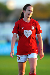 Olivia Chance of Bristol City Women - Mandatory by-line: Nizaam Jones/JMP - 27/10/2019 - FOOTBALL - Stoke Gifford Stadium - Bristol, England - Bristol City Women v Tottenham Hotspur Women - Barclays FA Women's Super League