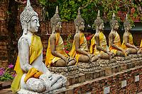 Thailande, province de Phra Nakhon Si Ayutthaya, Ayutthaya, Parc Historique, Wat Yai Chai Mongkhon // Thailand, Ayutthaya, Ayutthaya Historical Park, Wat Yai Chai Mongkhon