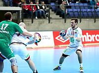Håndball, Januar Cup , menn<br /> 17.01.2015<br /> Håkons Hall , Lillehammer<br /> Norge v Ungarn <br /> Foto : Dagfinn Limoseth , Digitalsport<br /> Christian O´Sullivan , Norge