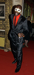 Fashion designer OZWALD BOATENG at the 2006 Moet & Chandon Fashion Tribute in honour of photographer Nick Knight, held at Strawberry Hill House, Twickenham, Middlesex on 24th October 2006.<br />