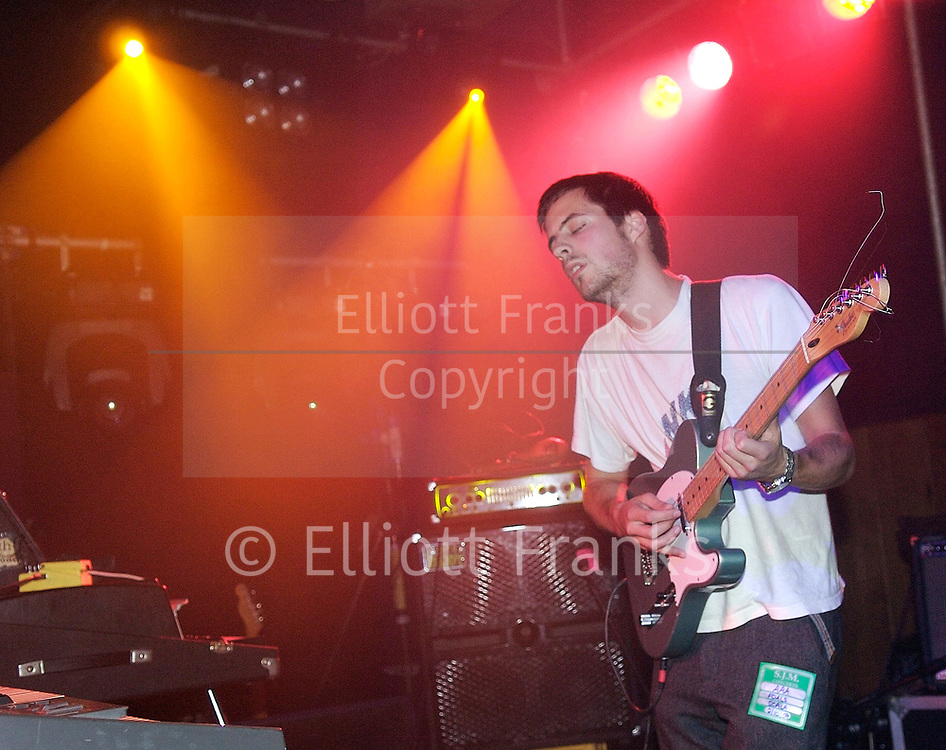 Great Eskimo Hoax<br /> (supporting Foals) live at the Scala, London, Great Britain<br /> 2nd October 2007<br /> <br /> Photograph by Elliott Franks