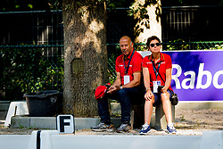 Hilberath Jonny, Theodorescu Monica, GER, <br /> EC Rotterdam 2019<br /> © Hippo Foto - Sharon Vandeput<br /> 24/08/19