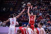 DESCRIZIONE : Milano Lega A 2015-16 Olimpia EA7 Emporio Armani Milano - Zagabria<br /> GIOCATORE : Alessandro Gentile<br /> CATEGORIA : Tiro Tre Punti <br /> SQUADRA : Olimpia EA7 Emporio Armani Milano<br /> EVENTO : Campionato Lega A 2015-2016<br /> GARA : Olimpia EA7 Emporio Armani Milano - Zagabria<br /> DATA : 05/11/2015<br /> SPORT : Pallacanestro<br /> AUTORE : Agenzia Ciamillo-Castoria/M.Ozbot<br /> Galleria : Lega Basket A 2015-2016 <br /> Fotonotizia: Milano Lega A 2015-16 Olimpia EA7 Emporio Armani Milano - Zagabria