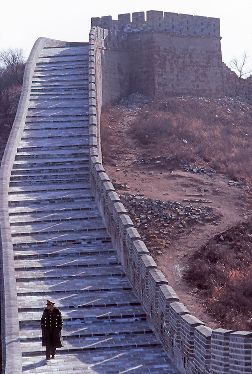 Lonely Soldier on the Great Wall.
