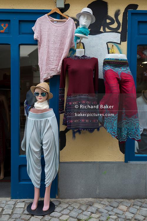 Exterior of a womens' clothes shop in the Slovenian capital, Ljubljana, on 28th June 2018, in Ljubljana, Slovenia.