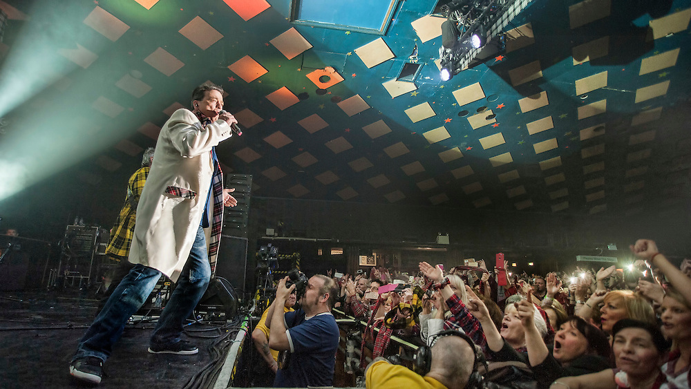 The Bay City Rollers at The Barrowlands, Glasgow, Britain - 21 December 2015