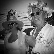 New York . Brooklyn. Mermaid parade in Coney island , Brighton beach  / parade des sirènes parade deguisee humoristique  .Coney island.  Brighton beach, new york  Usa