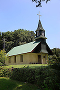 Nahiku church, 1867, Hana Coast, Maui, Hawaii