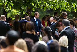 Hyde Park, London, July 7th 2015. Families of the victims and survivors of the 7/7 bombings in London gather at Hyde Park and are joined by the Duke of Cambridge Prince William at an emotional service commemorqating the Islamist terrorist bombing outrage that happened on London's transport network, claiming 57 lives and left scores of people injured. PICTURED: Prince William arrives at the ceremony.